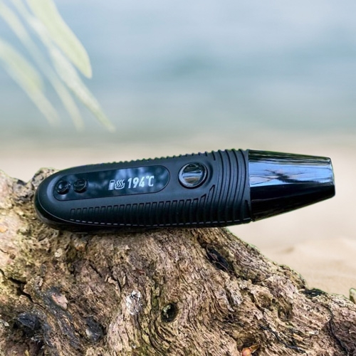 The Boundless CFC 2.0 vaporizer is small and easy to bring with you when you leave the home