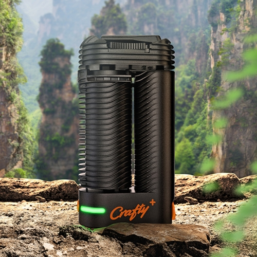 Crafty+ Vaporizer is both beautiful and powerful